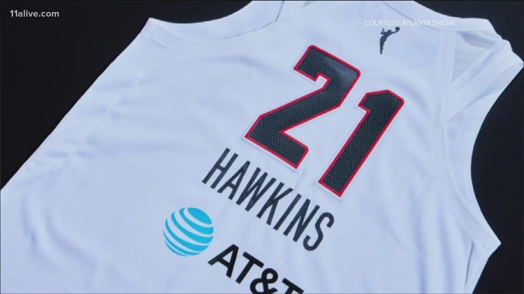 Atlanta Dream gets new uniforms