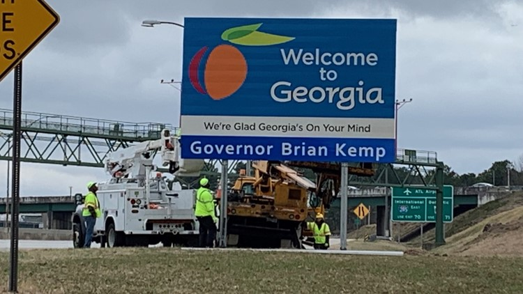 Georgia sign Brian Kemp