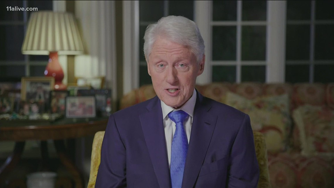 Bill Clinton recovering after infection
