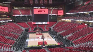 Hawks to play first game in newly-renovated State Farm Arena