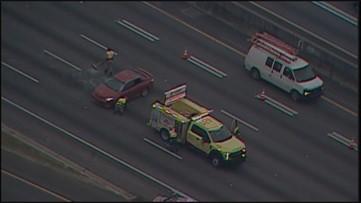 Crash on I-85 in Midtown causing massive delays