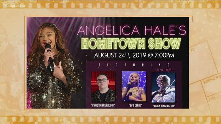 Angelica Hale brings awareness to kidney health in Sandy Springs performance, Rotimi talks finale season of hit show 'Power'