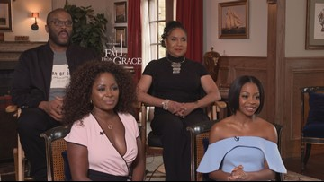 Tyler Perry, Phylicia Rashad get candid about 'A Fall From Grace' (FULL INTERVIEW)