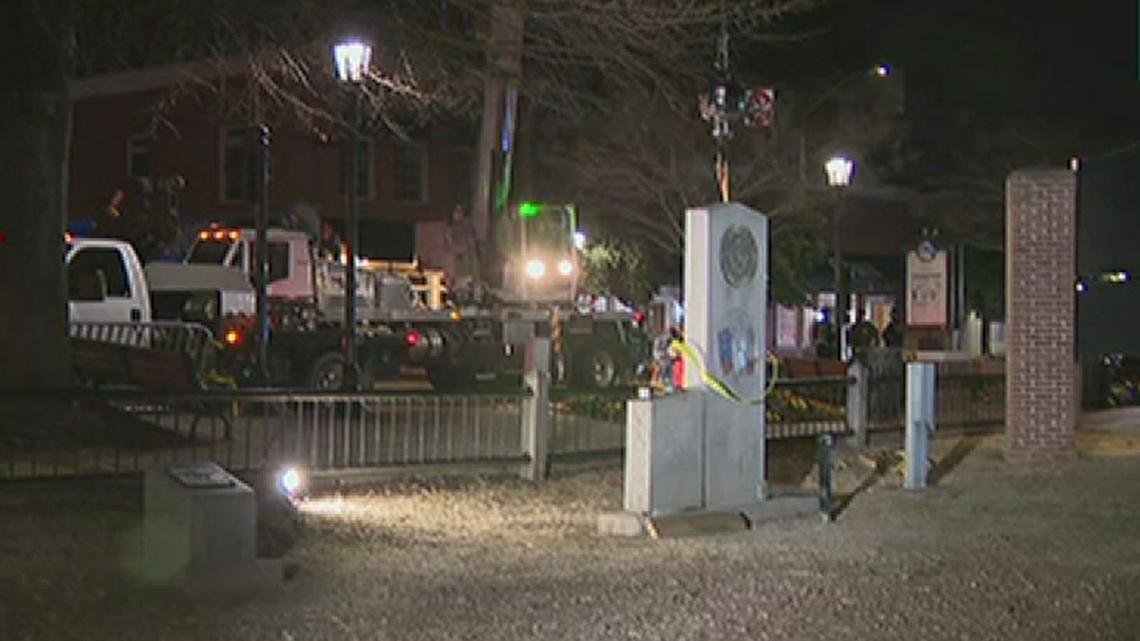 Lawrenceville Confederate statue removed