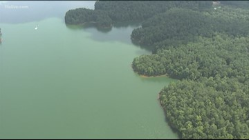 Woman drowns after falling off float at Lake Allatoona
