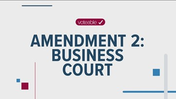 What the business court amendment means