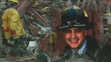 'It took a long time to heal': His dad was one of the 343 firefighters who died on 9/11