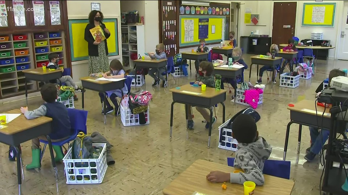 CDC recommends masks in schools, Kemp says Georgia will not have mask mandate