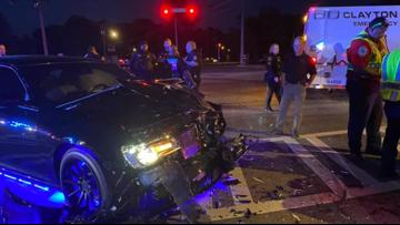 Clayton County sheriff in crash allegedly caused by DUI suspect