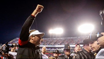 UGA's Kirby Smart apologizes for using expletive after win over Auburn