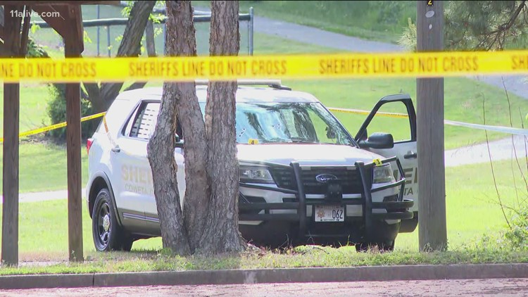 Suspect injured in shootout with deputies outside Newnan