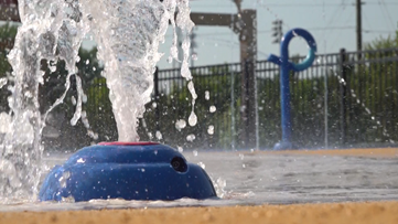Forsyth County splash pad offers wet and wild summer fun