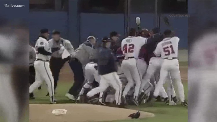 Braves History   The 1995 World Series