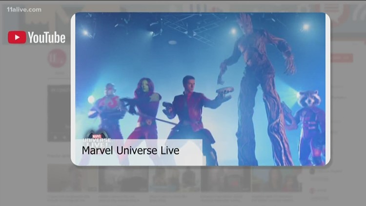 'Marvel Universe Live' coming to Atlanta in 2019