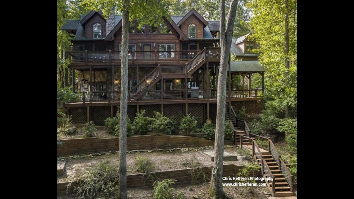 Photos Inside Chipper Jones Blue Ridge Mountain Lake Home