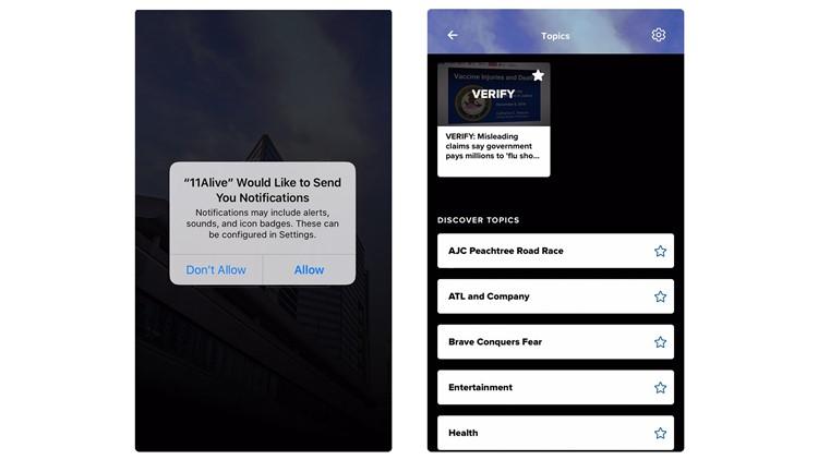 11alive app alerts