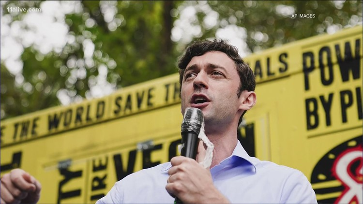 Jon Ossoff effectively declares victory, saying he thanks Georgia 'for electing me to serve you'