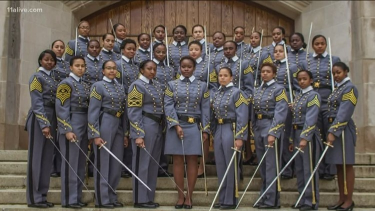 Historic number of black women to graduate from West Point