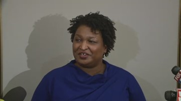 Stacey Abrams discusses possible Senate run