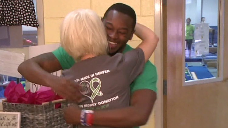 Valentine's Day revisited: 1 year after beloved coach learned he had a kidney match