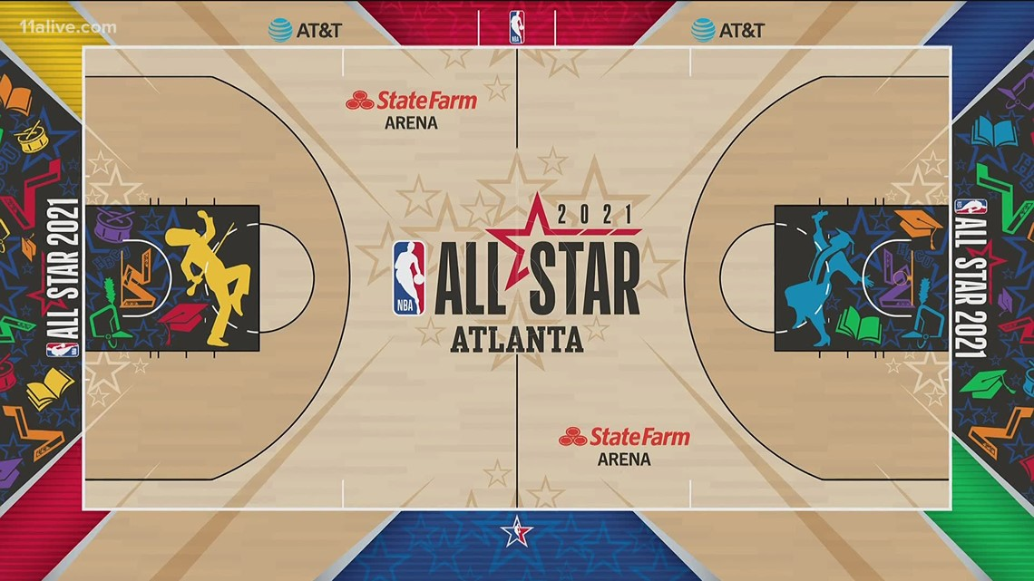 NBA reveals HBCU-inspired court for 2021 All-Star game in Atlanta