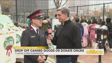 Groups come out to support Salvation Army for Can-A-Thon