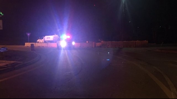 Man, woman dead after motorcycle crashes into 18-wheeler