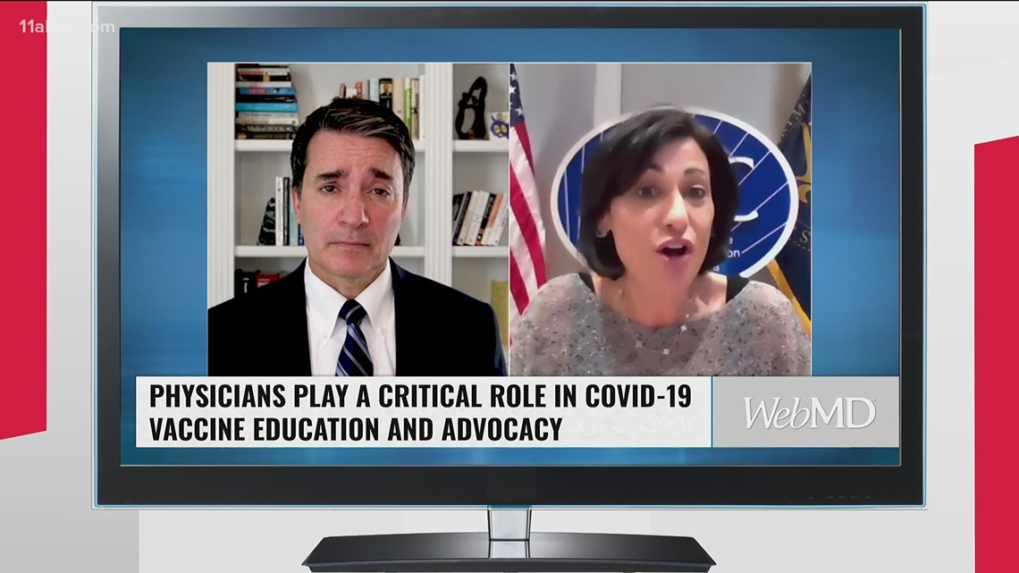 CDC: Doctors should take lead on hesitancy