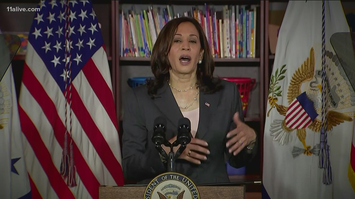 VP Kamala Harris to visit Atlanta Friday