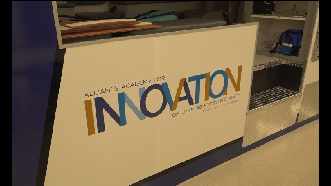 New high school in Forsyth County showcases interactive classrooms