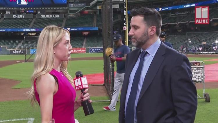 Atlanta Braves GM Alex Anthopoulos 1-on-1 ahead of World Series