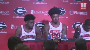 'We didn't play with toughness in the second half': UGA players discuss loss to Kentucky