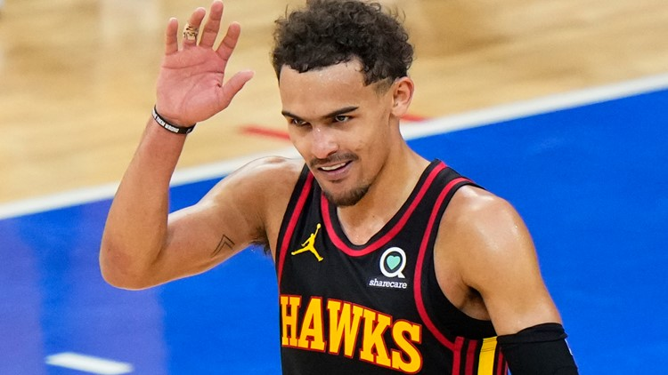 Trae Young's baby look-a-like helps raise more than 130,000 diapers for local baby supply bank