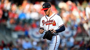 Braves lose Game 5 of NLDS in historic fashion