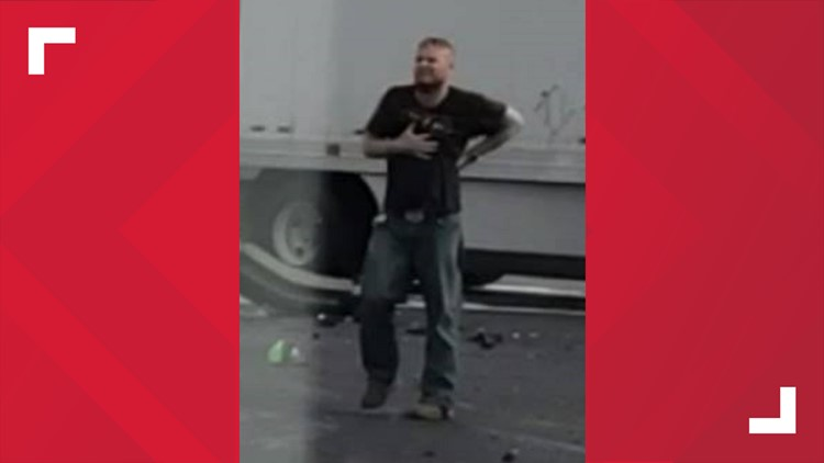 Escaped suspect from chase and crash in Carroll County on June 25, 2019