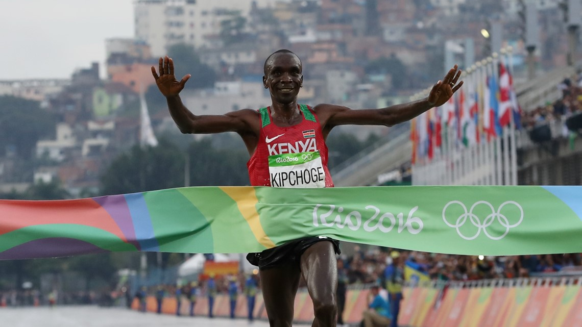 Why is the Olympic marathon 26.2 miles?