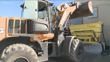 GDOT prepares for winter weather | What to do if you're caught on icy roads