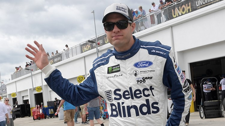 NASCAR Ragan Stepping Back Auto Racing