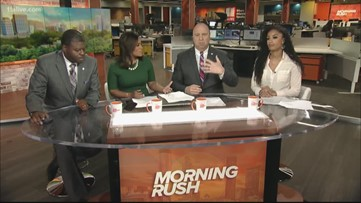 Morning Rush anchors react to city's potential ban on religious symbols in public buildings during holidays