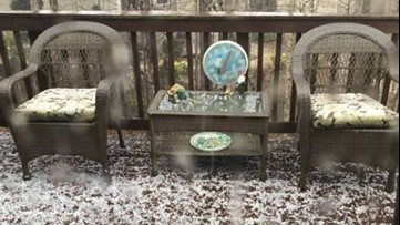 Severe weather updates: Hail reported across metro Atlanta after severe weather