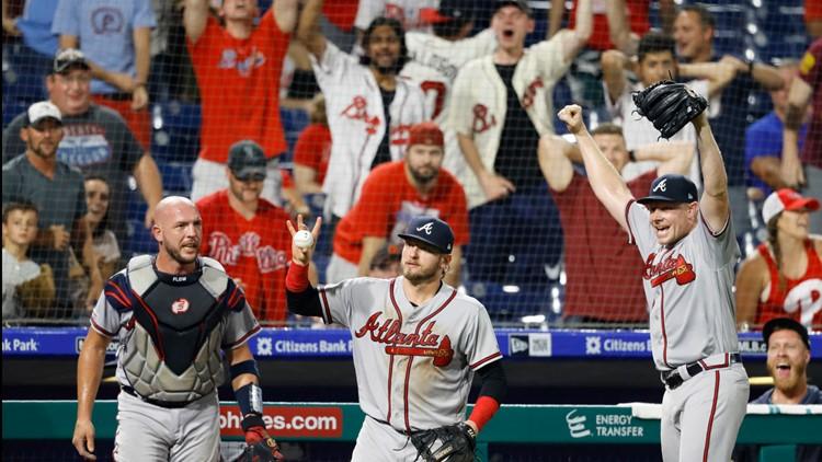 Braves Tyler Flowers Josh Donaldson Mark Melancon