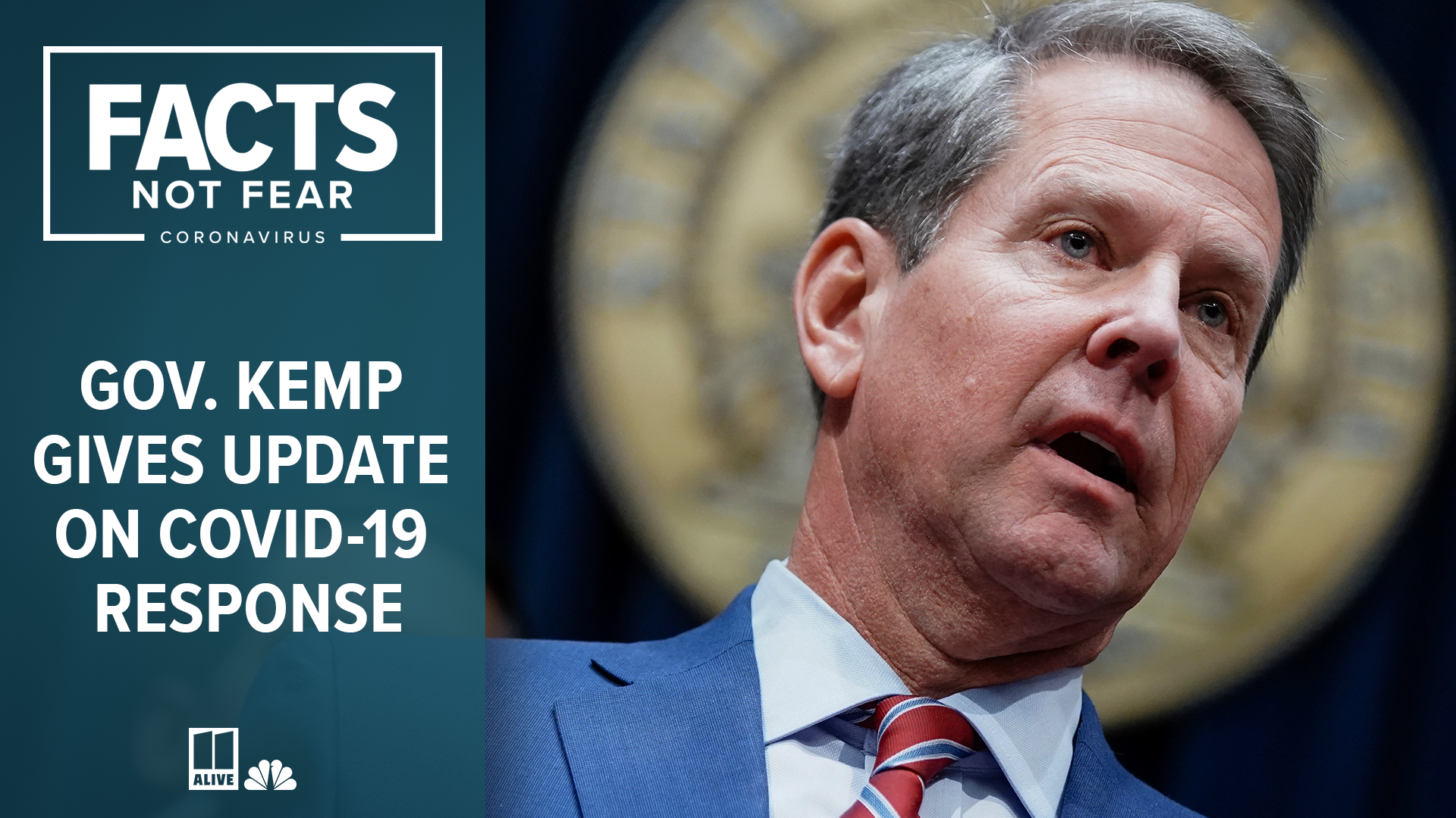 Coronavirus In Georgia Governor Kemp Issues Stay At Home Order