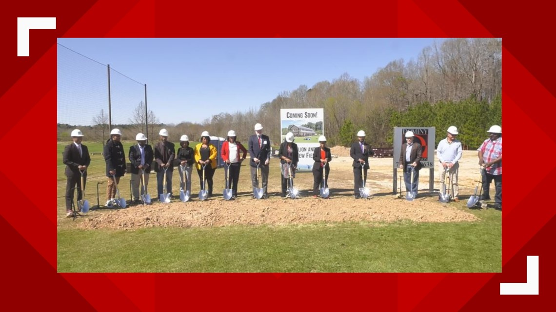 East Point officials hold groundbreaking ceremony for new sports facility