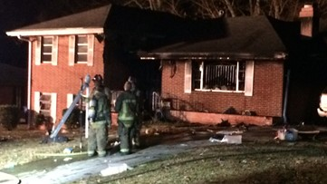 Firefighters rescue man who ran into burning house in northwest Atlanta