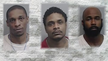 Traffic cone helps secure murder convictions against three Fulton County robbers