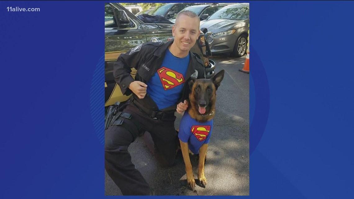 Happy Birthday to retired K-9 officer Dano!
