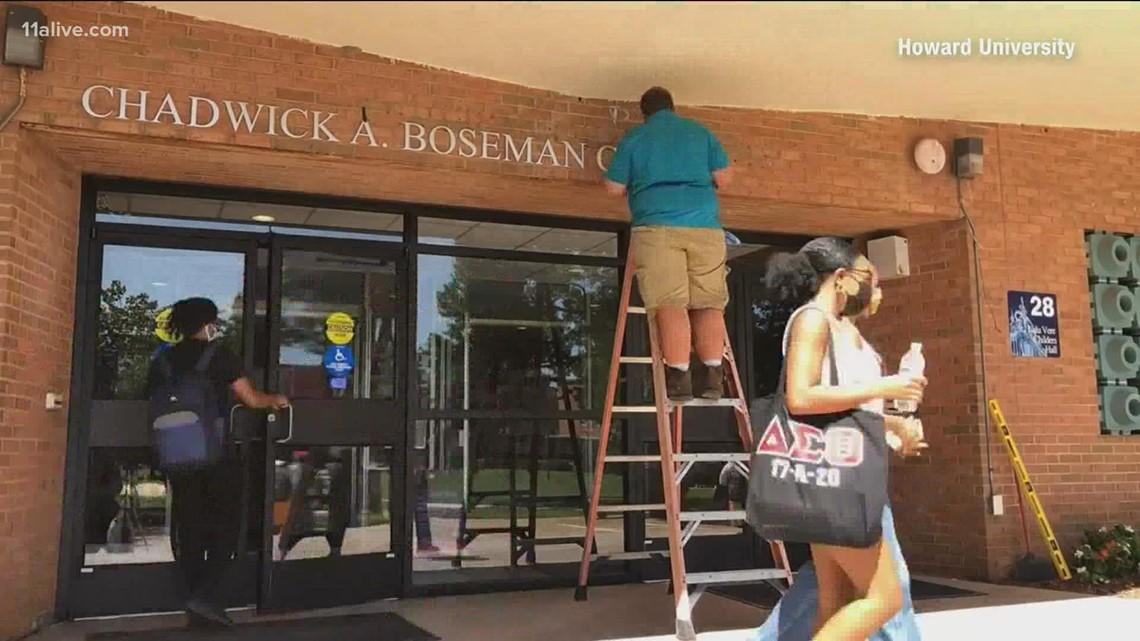 Howard University names fine arts center after late actor Chadwick Boseman