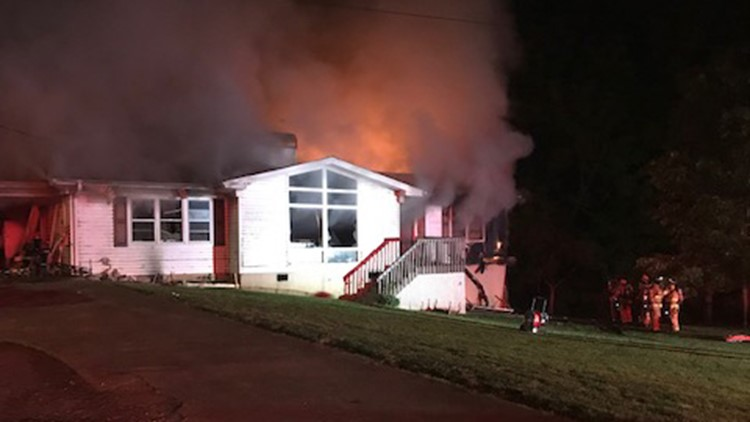 Family of seven displaced by house fire in Hall Co.