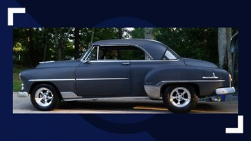 67-year-old car stolen in the north Georgia mountains