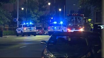 Birmingham officer shot, suspect killed in downtown shootout